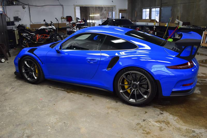Porsche Owners Trust Colorado Clear Bra
